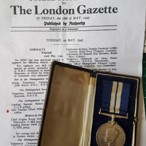 U-Boat killer Distinguished Service Medal Group HMS Nyasaland