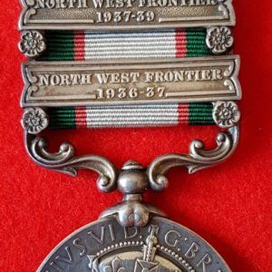 India General Service Medal Northamptonshire Regiment