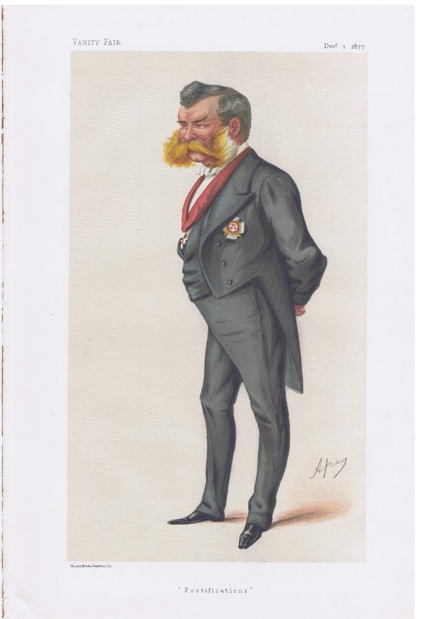 Sir John Lintorn Arabin Simmons Vanity Fair Print