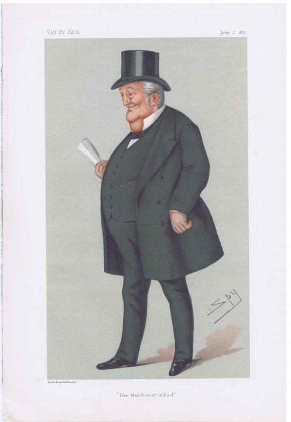 Thomas Bayley Potter Original Vanity Fair Print