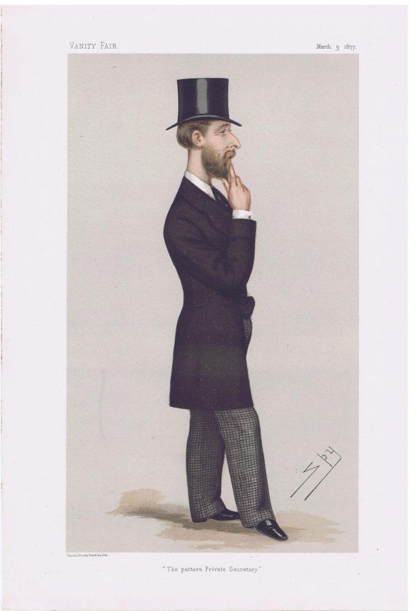 Montagu William Corry Original Vanity Fair Print