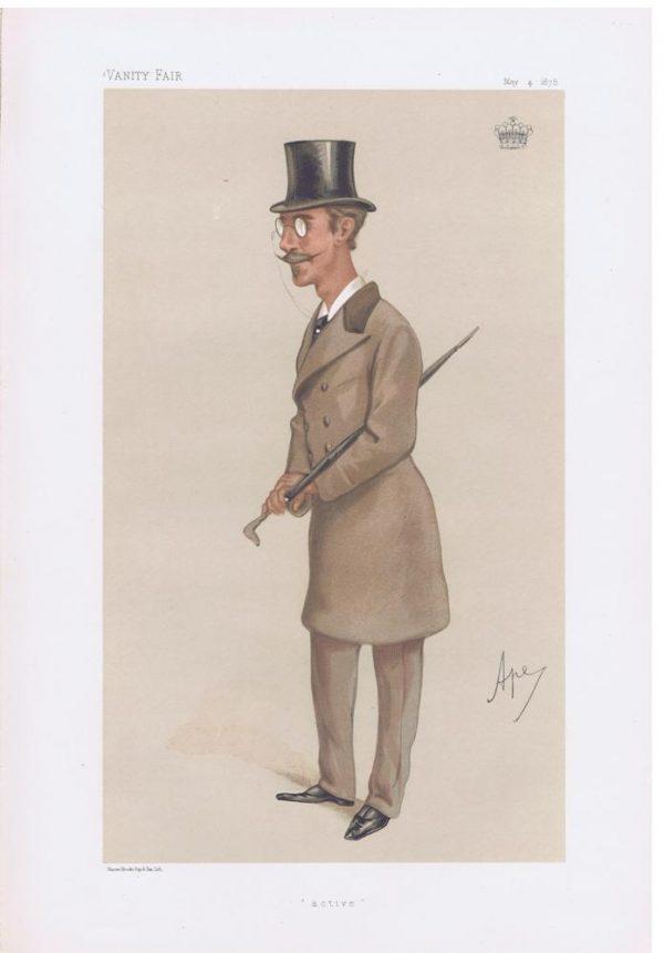 Earl Dunraven and Mount-Earl Original Vanity Fair Print
