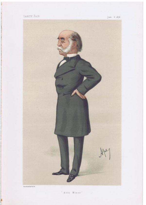 Lieut-General Arnold Kemball Vanity Fair Print