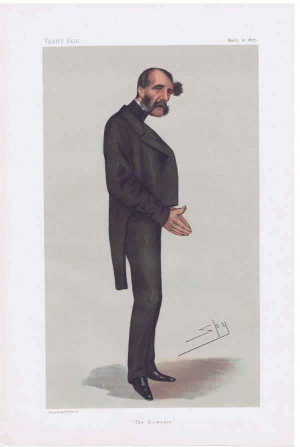 Lord Claud Hamilton Original Vanity Fair Print