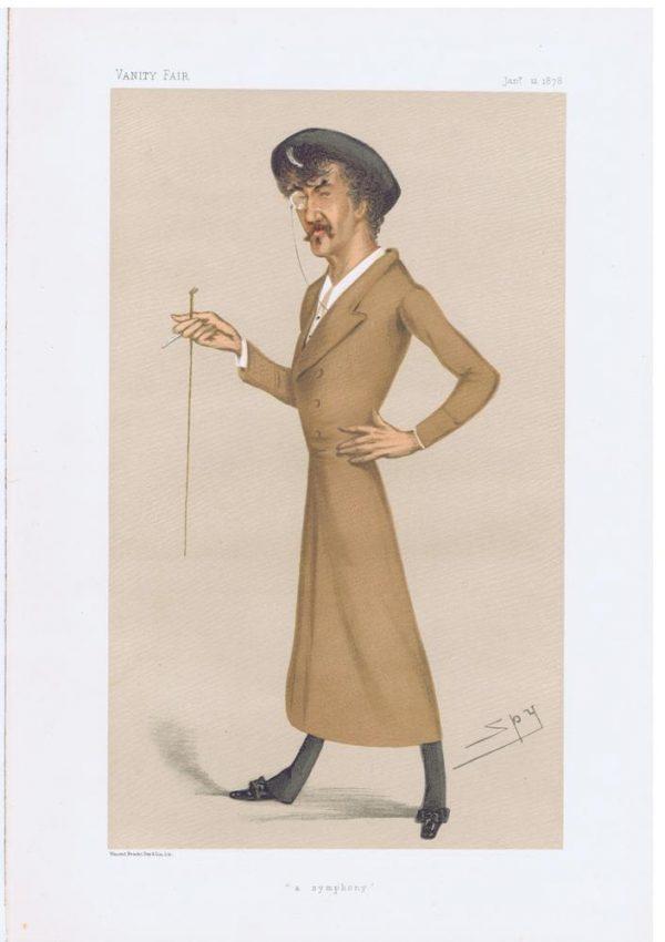 James Abbott McNeill Whistler Vanity Fair Print