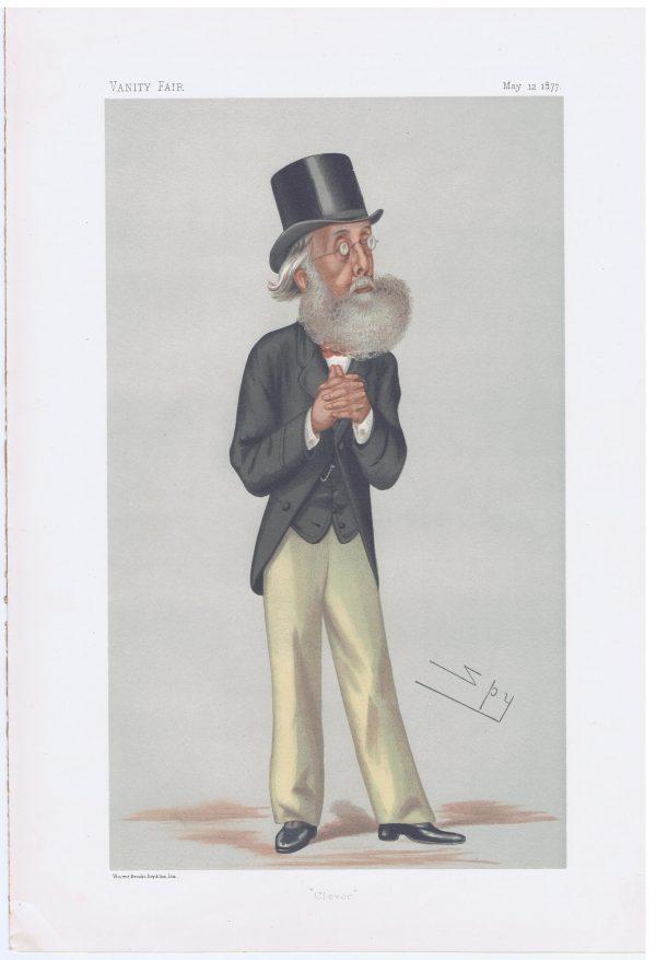 William Bromley Davenport Original Vanity Fair Print