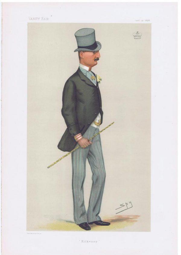 James Butler Marquess Of Ormonde Vanity Fair Print