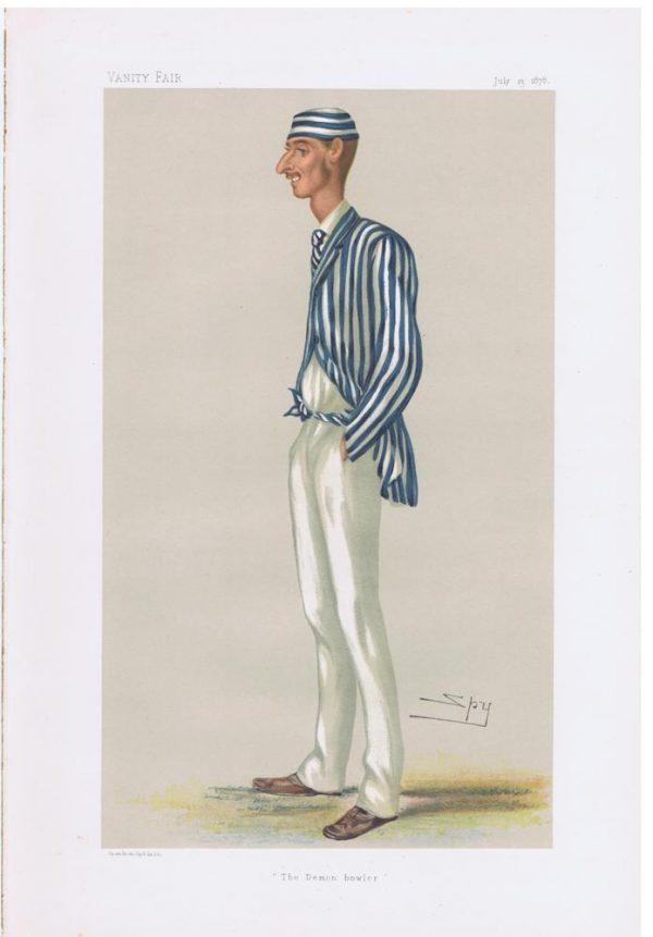 Vanity Fair Cricketer Print Frederick Spofforth