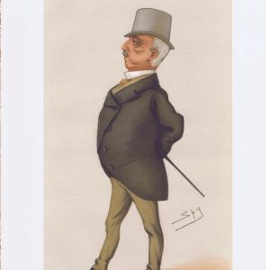 General George Paget Original Vanity Fair Print