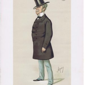 Earl Fitzwilliam Original Vanity Fair Print