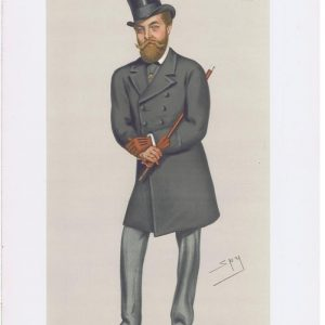 Charles Murray Earl Of Dunmore Vanity Fair Print
