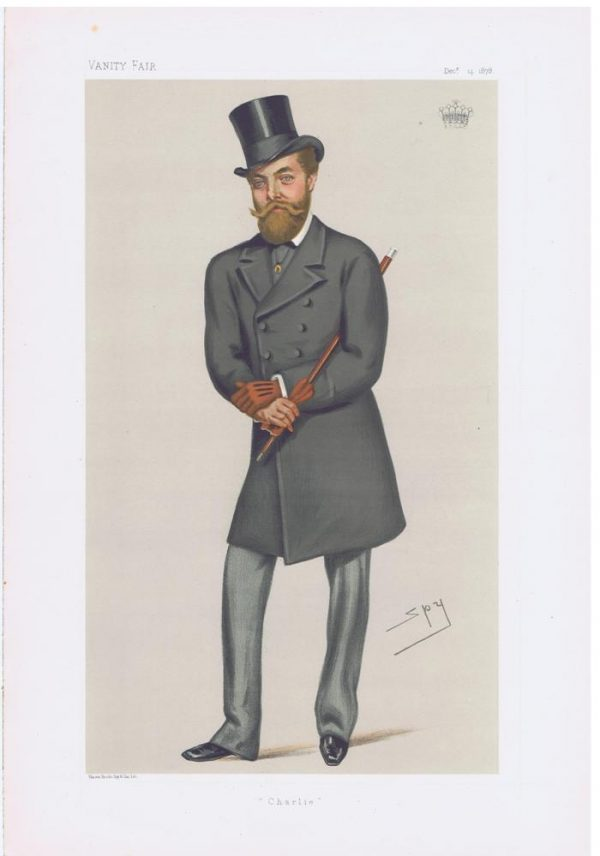 Charles Murray Earl Of Dunmore Vanity Fair Print