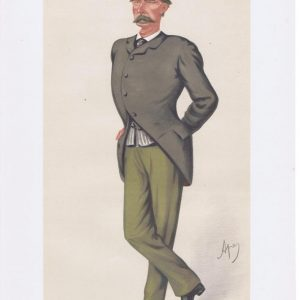 General Frederick Marshall Vanity Fair Print