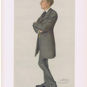Victoria Cross Winner Captain Gifford Vanity Fair Print
