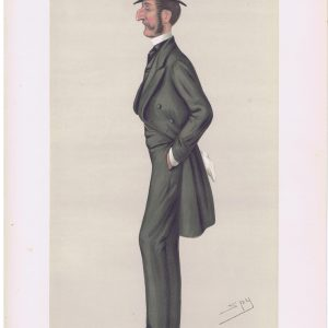Colonel Robert Kingscote Vanity Fair Print