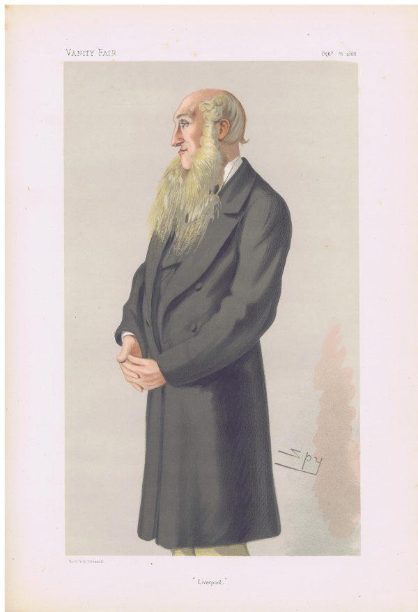 Edward Whitley Original Vanity Fair Print