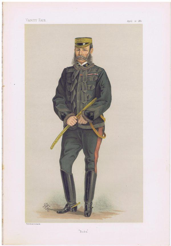General Lord RobertsVanity Fair Print
