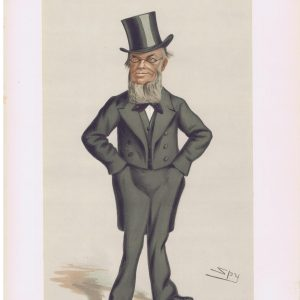 George Gregory Original Vanity Fair Print