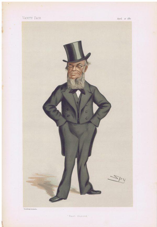 George Gregory Original Vanity Fair Print