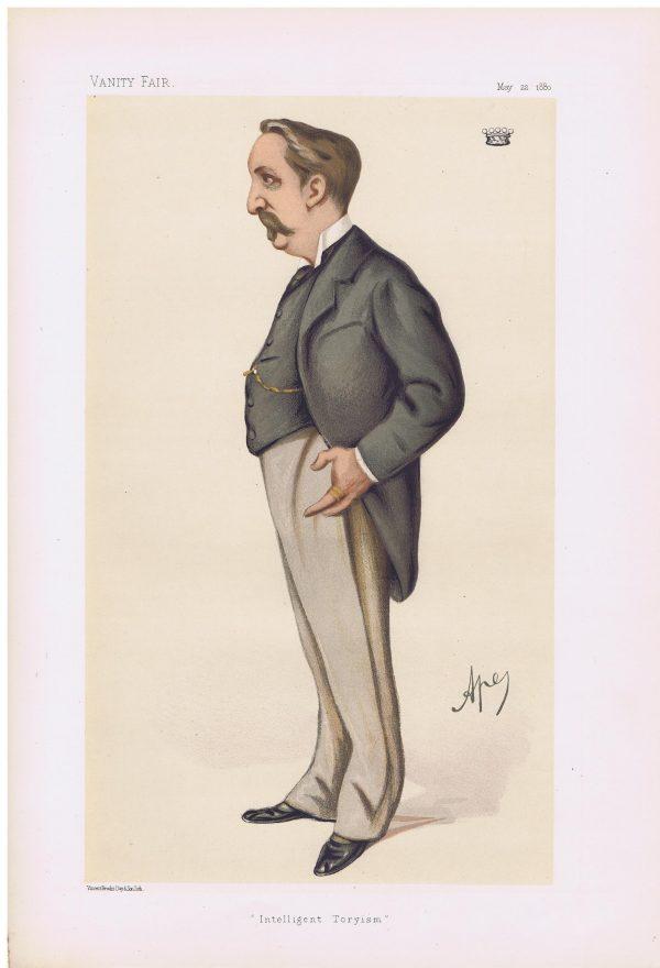 Baron Henry De Worms Vanity Fair Print