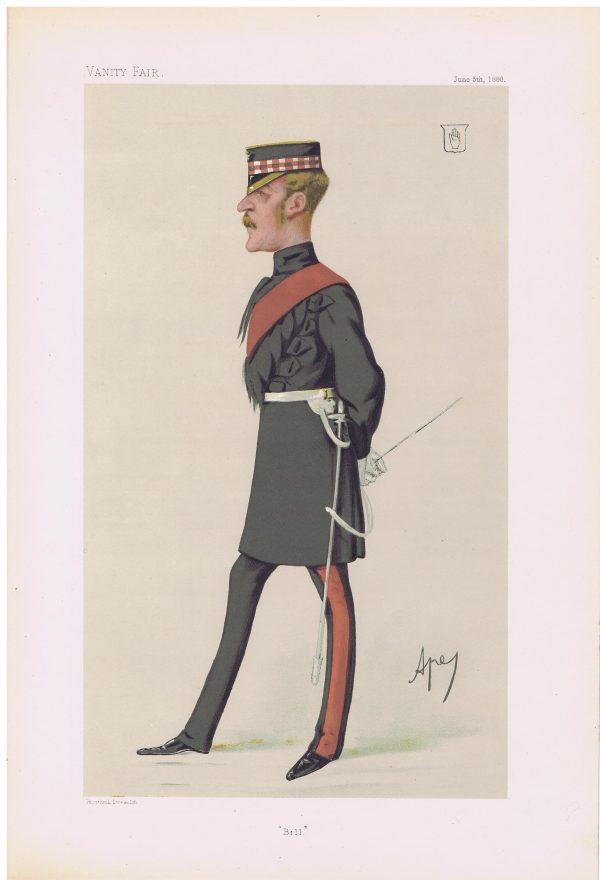 Sir William Gordon-Cumming Vanity Fair Print