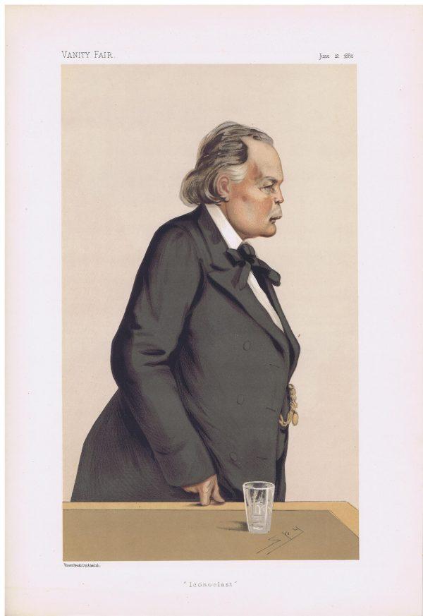 Charles Bradlaugh Vanity Fair Print