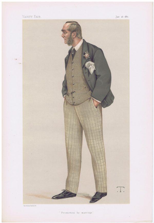 Augustus Berkeley Paget Vanity Fair Print