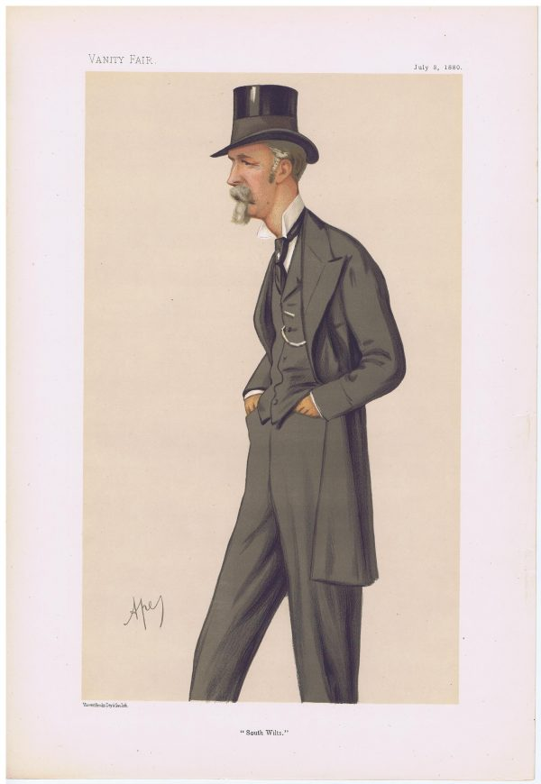 William Pleydell-Bouverie Vanity Fair Print