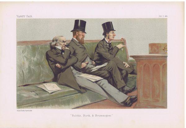 The Treasury Bench Original Vanity Fair Print
