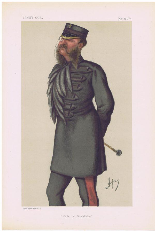Grenadier Guards Colonel Phillips Vanity Fair Print
