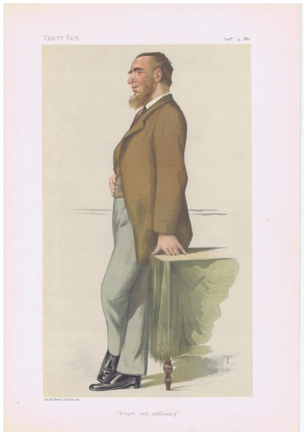 Leonard Henry Courtney Vanity Fair Print