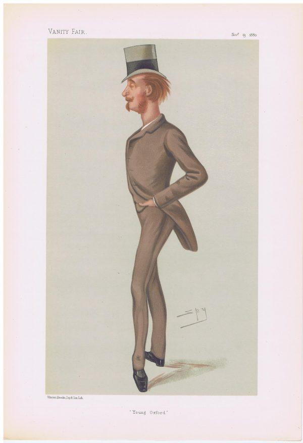 Viscount Lymington Vanity Fair Print