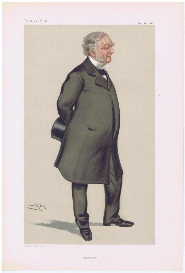 Erasmus Wilson Vanity Fair Print