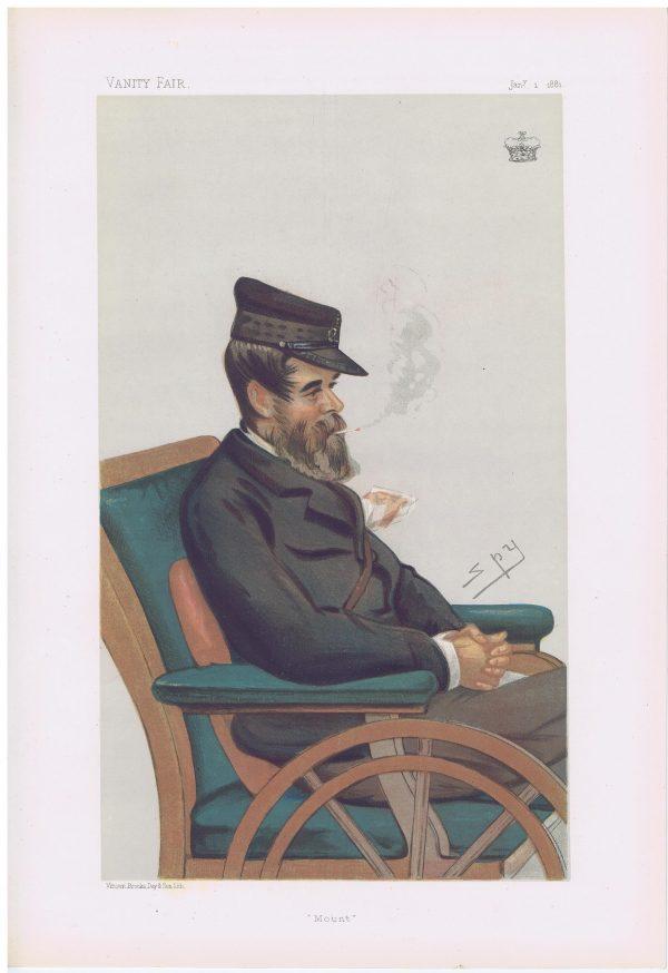 The Marquis Conyngham Vanity Fair Print