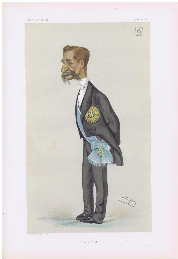 Richard Temple Vanity Fair Print