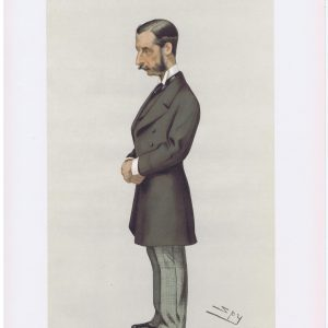 The Marquis of Hamilton Vanity Fair Print