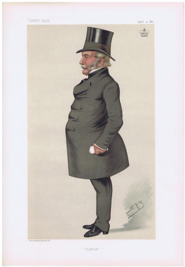 Lord Waveney Vanity Fair Print