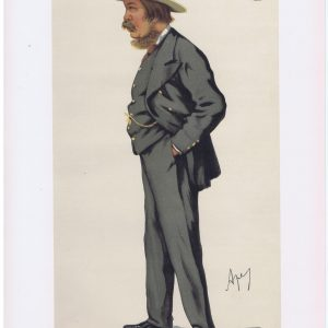 The Marquis Of Exeter Vanity Fair Print