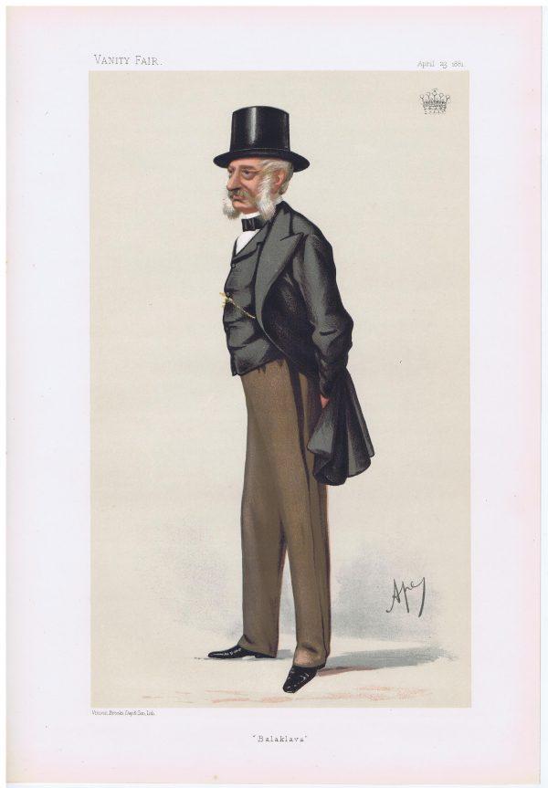 General Lord Lucan Vanity Fair Print