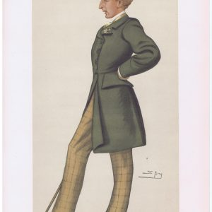 Thomas Lister Lord Ribblesdale Vanity Fair Print