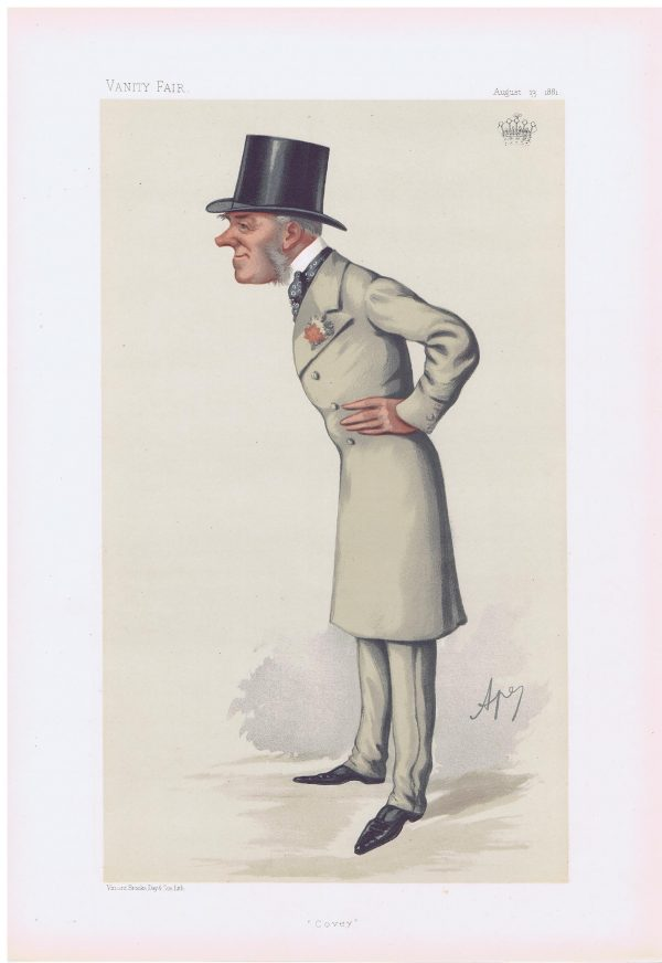 The Earl Of Coventry Vanity Fair Print