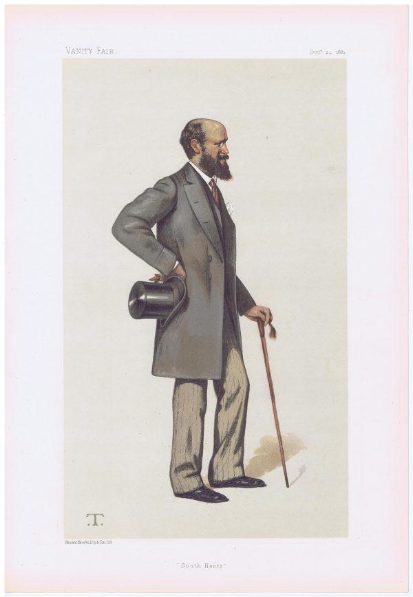 Henry John Montagu-Douglas-Scott Vanity Fair Print