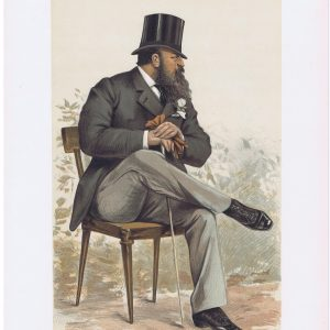 Lord Rendlesham Vanity Fair Print