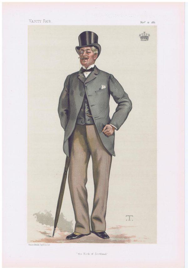 The Earl Of Rosslyn Original Vanity Fair Print