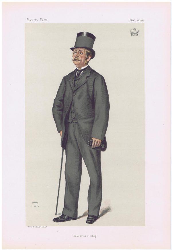 Viscount Hawarden Vanity Fair Print