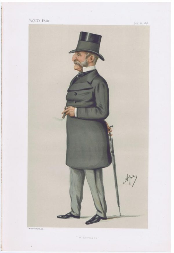 General Thomas Steele Original Vanity Fair Print