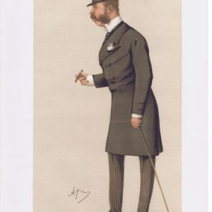 General Sir Charles Henry Ellice Vanity Fair Print