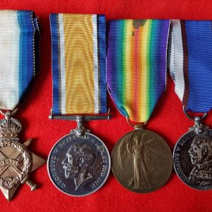 Brixham Devon Royal Fleet Reserve Medal Group