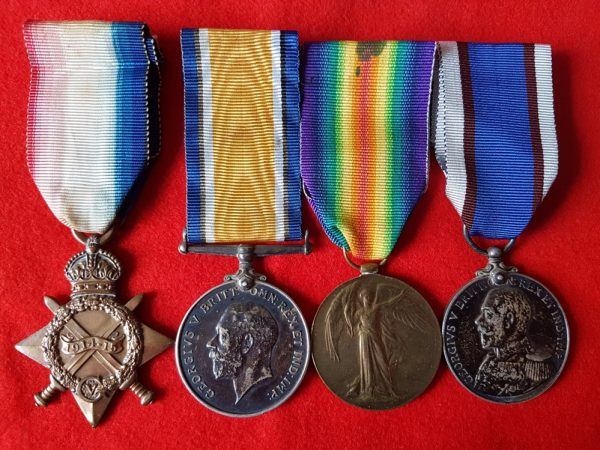 Brixham Devon Royal Fleet Reserve Medal Group
