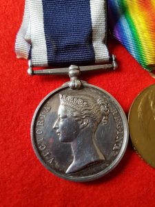 Victorian Royal Navy Long Service Medal